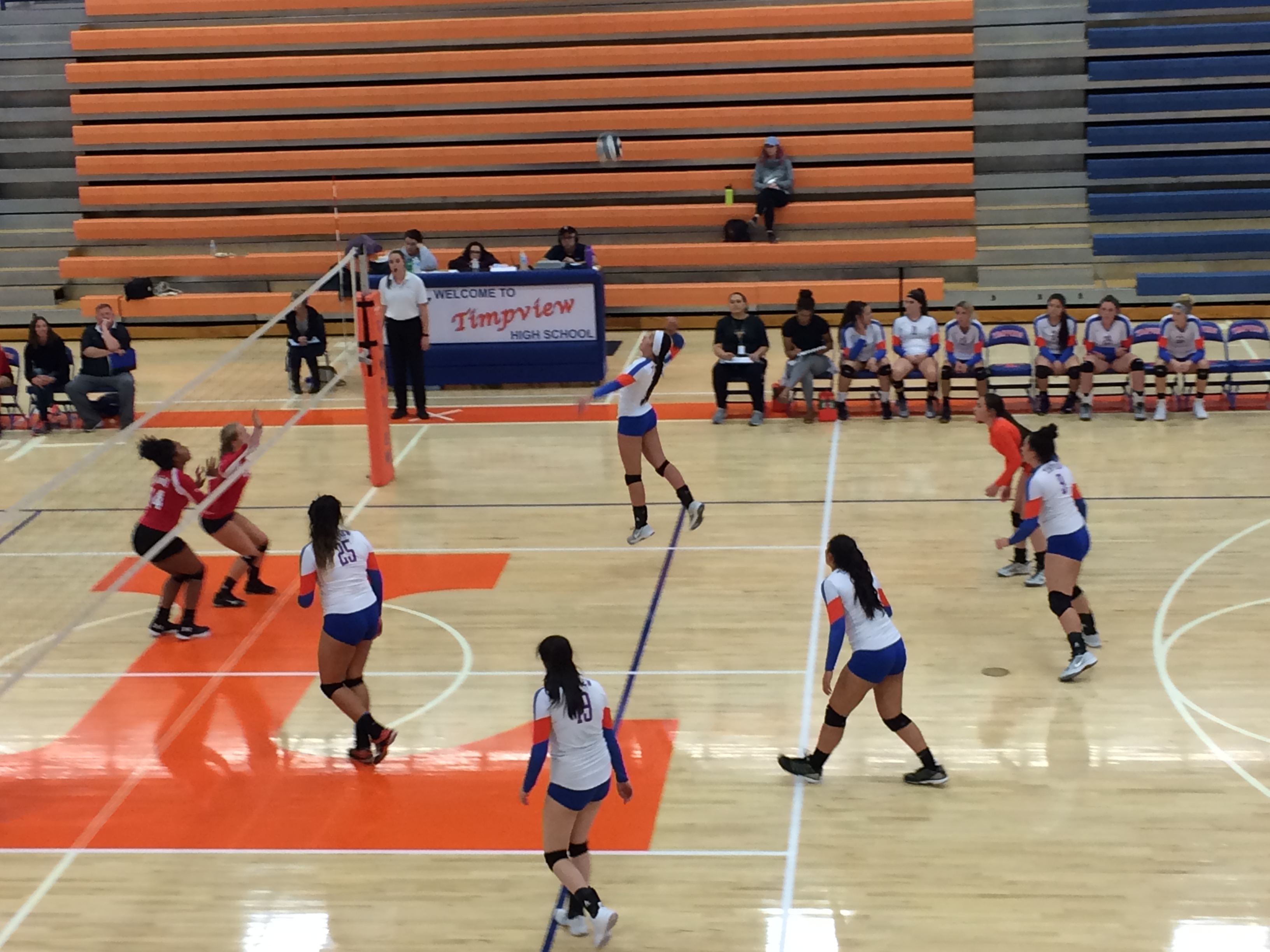 Varsity Volleyball: Timpview Vs. Alta