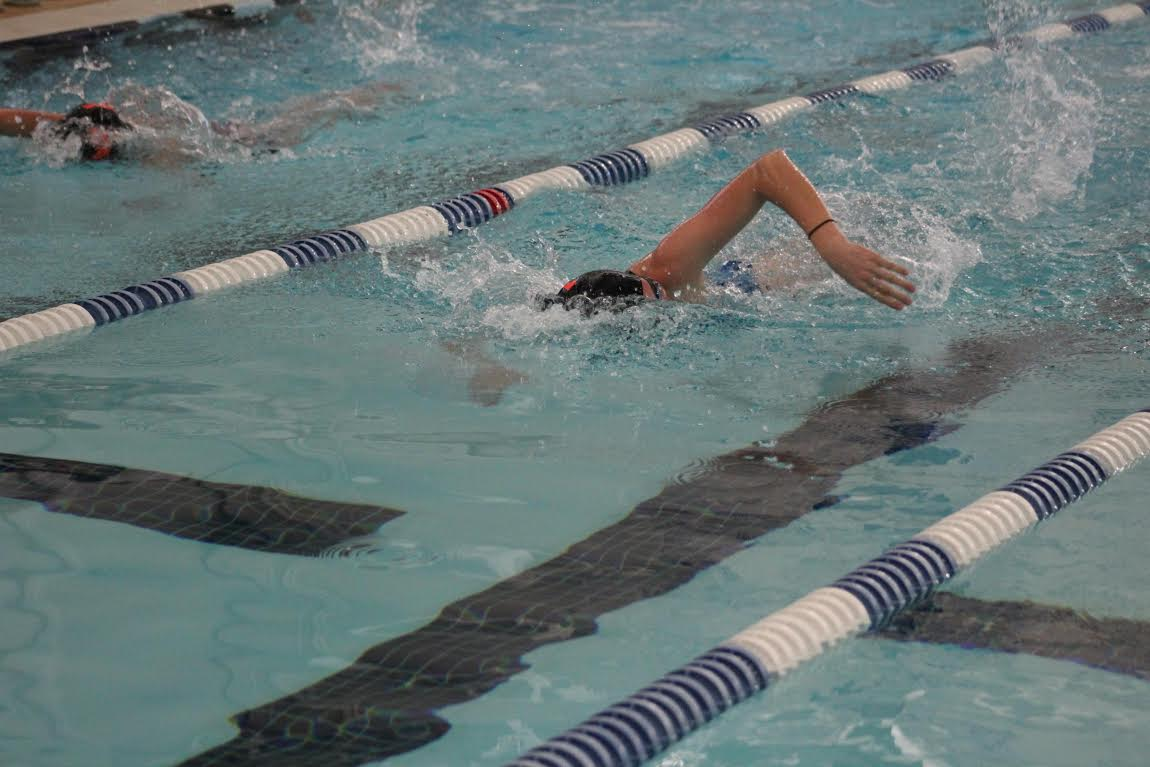 Less Sugar, More Music: How the Swim Team Gears Up for State