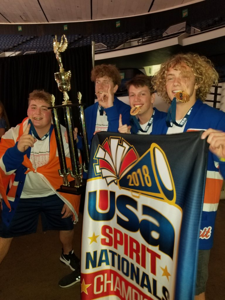 Mascot Team Brings Home Gold