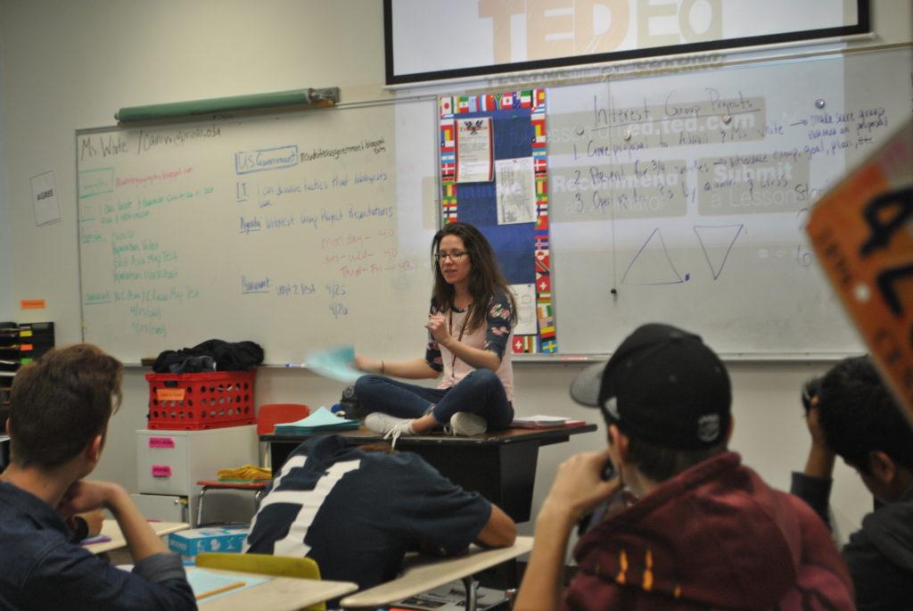 Teacher Feature: Ms. White