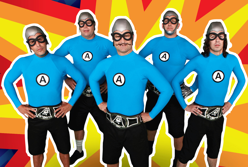 Super rad! The Aquabats! return to SLC