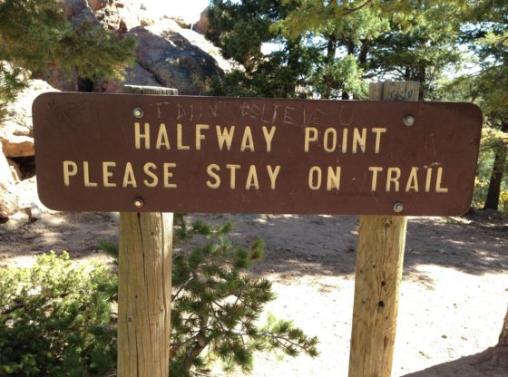 Image result for halfway there